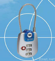 Digits Combination Zipper Padlock / TSA Lock