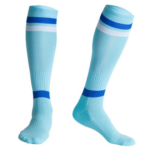 2017 European Hot Selling Mens Sports Athletic Compression Football Soccer Socks Over Knee High Team Socks