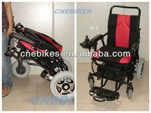 Newest ! foldable electric wheelchair with brushless motor