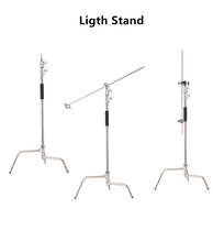 Heavy duty Studio Centry C Stand Detachable Light C-stand +gobo Arm+line Resizer For Flash Strobe Flag Reflector Light Stand