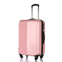Chinese manufacture Hard cover ABS PC spinner wheels luggages