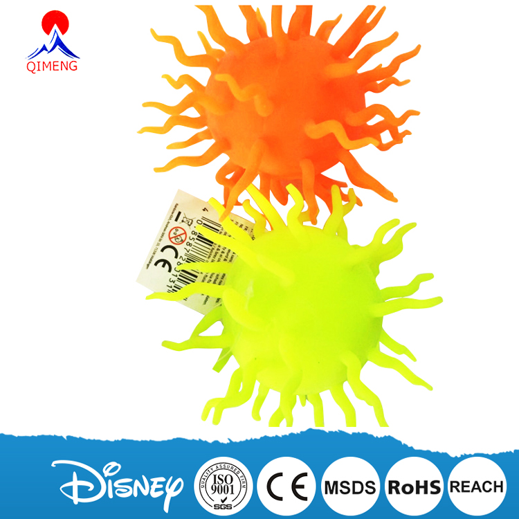 Hot Selling Kids Soft Worm Puffer Ball Toys
