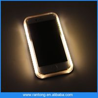 wholesale cell phone case high quality phone case with light for iphone5