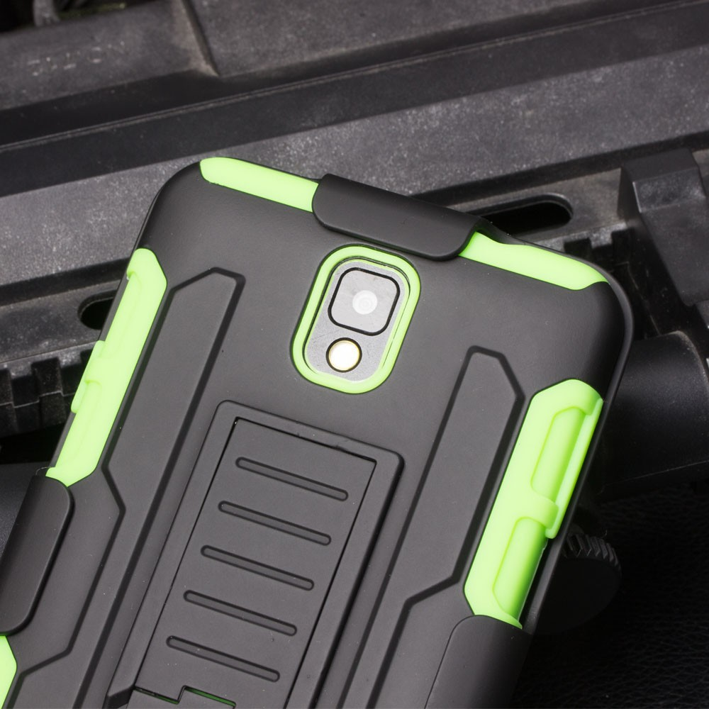 IN STOCK!2016 NEW Future Armor Impact Holster Kickstand Combo shockproof case Cover For SAMSUNG GALAXY Note 3 N9000