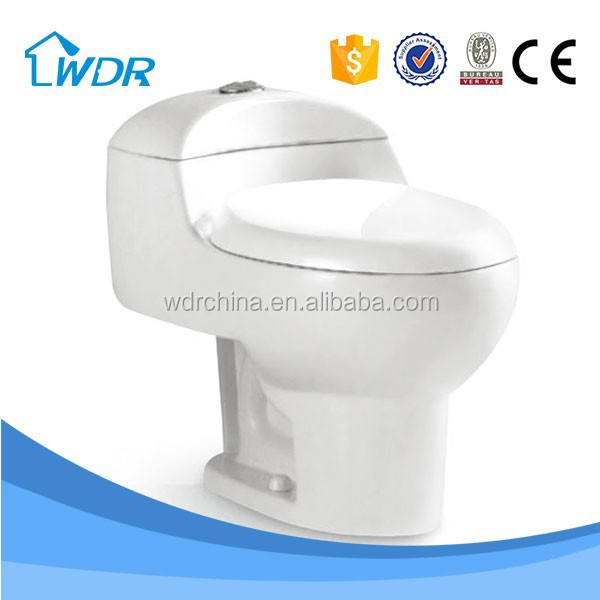 Floor trap 1 piece toilet wc water siphon flushing floor drain Standard Closet