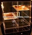 Acrylic Bread Display Shelf,Acrylic Bakery Display,Acrylic Food Dispenser