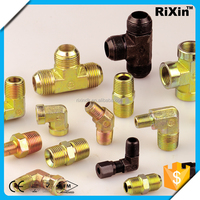 RX - 1304 wholesale iron female threaded tee hydraulic elbow brass boiler iron-handle cock