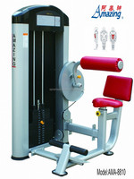 Professional body building equipment seated abdominal gym machine made in Guangzhou factory AMA-8810