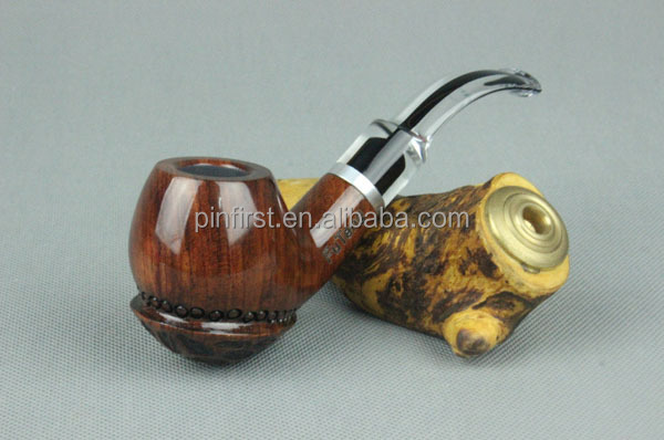 Top quality handmade tobacco pipe Bottom Cone Pattern Design With 9mm filter element smoking pipe