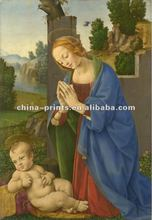 Wall Decor of Religion Person Figure Oil Painting