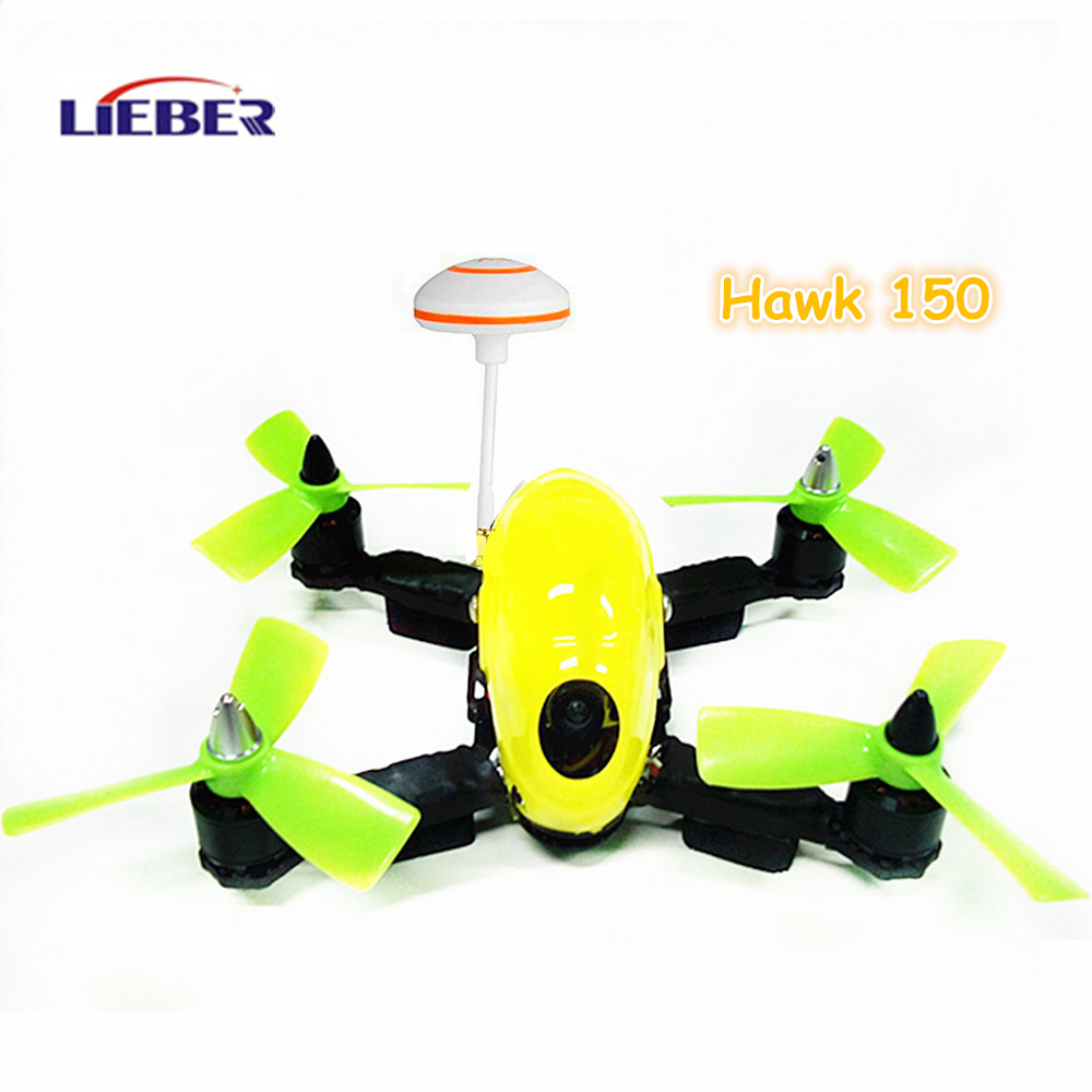 NEW LIEBER 150 FPV Racer Mini RC Quad Copter 5.8G 4 Axis Microlight RC Aircraft for Sale