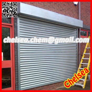 High grade galvanized steel rolling gate