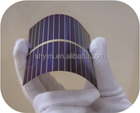 Flexible Solar Cell 80*80 Amorphous Silicon Solar Cell
