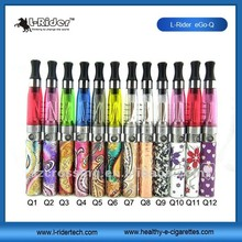 L-rider e cigarette starter kit Ego Q Various color clear black grey blue green red yellow purple avaiable