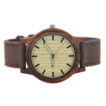 2017 new arrival Japna movement bamboo watch , bamboo watch men