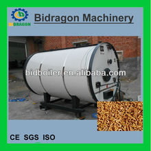 low operating cost pellet water boiler for central heating systems