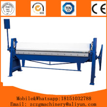Hand sheet alloy manual bending folding machine 2x2000mm , 1.5x2000mm model hand bender price