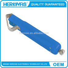 cable stripper Heat-treated powerful, Impact-proof plastic handle cable wire stripper