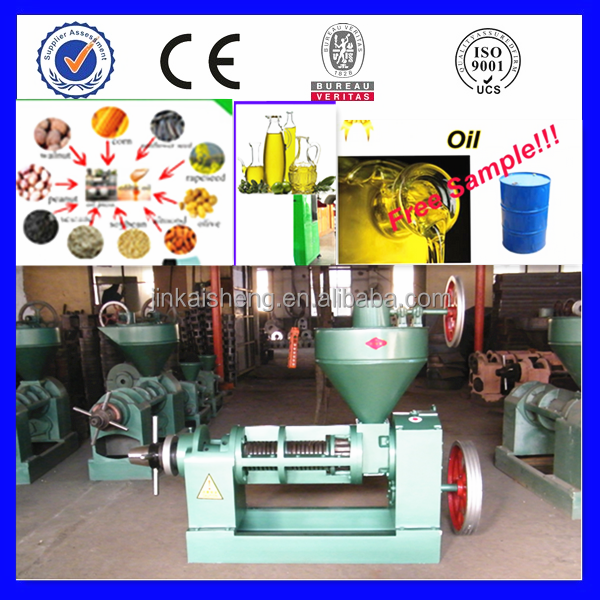 New Design Oil Press For Sunflower Seed/2015 Newest Oil Press For Sunflower