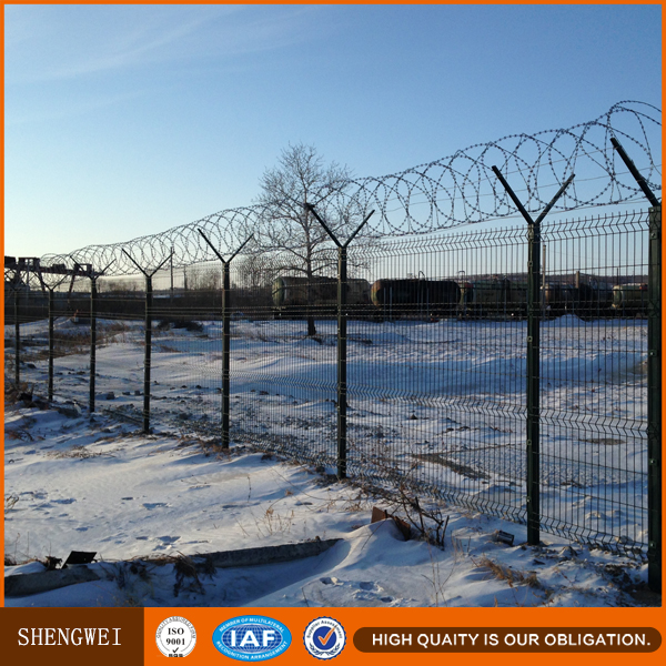 barbed wire fencing,security fence,cyclone fencing