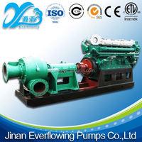 wear resistant 6 inch diesel slurry water pump