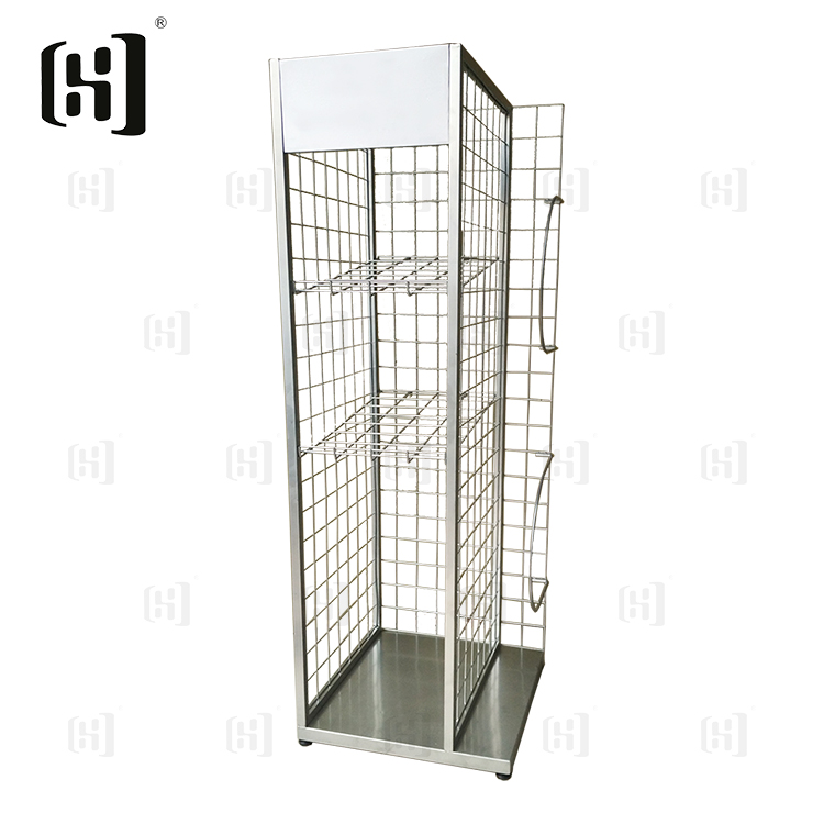 Hot sale metal wire sports goods display rack
