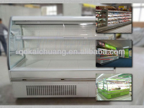Highest quality !!! supermarket refrigeration showcase
