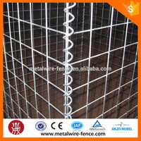 Made In Guangzhou RP Gabion fence / Gabion wire mesh fence / Gabion box wire fencing