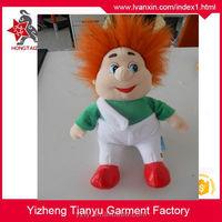 factory supply 25cm 30cm 35cm cute realistic plush male baby dolls