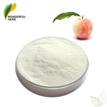 Pure prunus persica fruit extract juice flavor peach powder drink mix