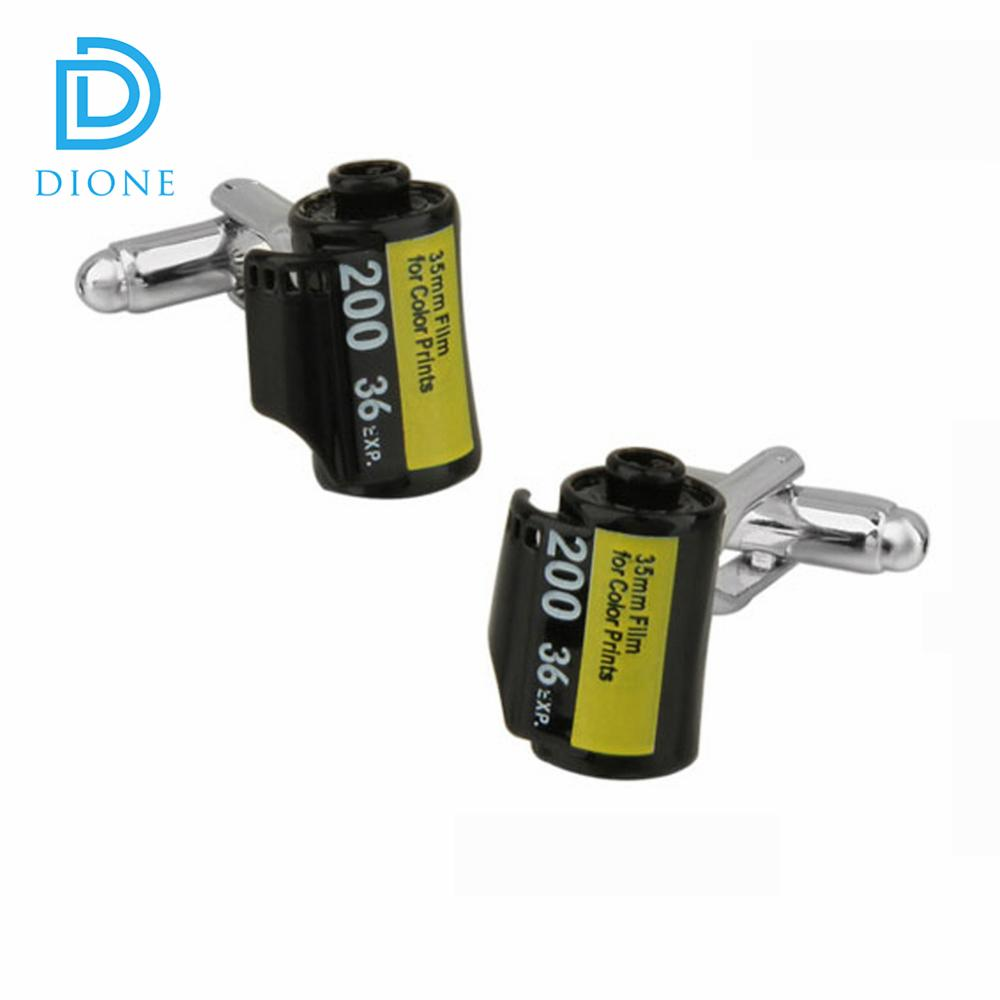 Small MOQ Black battery brass wholesale cufflinks For Boy