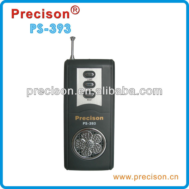 Flashlight radio with FM telescopic antenna good reception quality