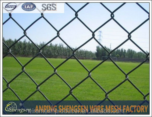 ALIBABA recommend Anping factory hot dipped galvani chain link fence 5 foot plastic coated chain link fence low price
