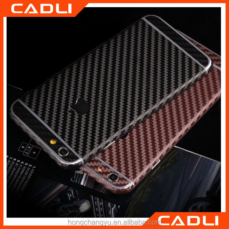 New Mobile Phone Stickers cover Carbon Fiber Body Skin For iphone5 5G SE Protector stickers