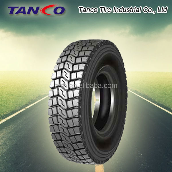Chinese factory exporting Annaite truck tyres 700R16
