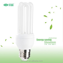 China manufacturer tri-phosphor 3u energy light saving bulbs