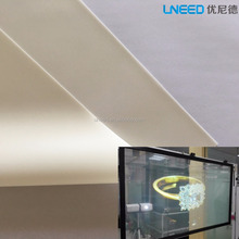 UNEED White Rear Projection Film Projector Screen Material / Rear Projection Fabric