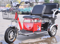 Hot Sale Double Seat Passenger Electric Tricycle/Scooter