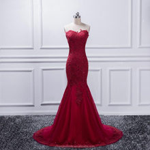 Real Photo Luxurious Bodice Lace Top Quality Burgundy Mermaid Wedding Dresses 2018 Lace gray Wedding Gown
