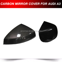 Carbon Fiber Door Mirror Covers for Audi A3 Sportback / Sedan 2013 2014 2015
