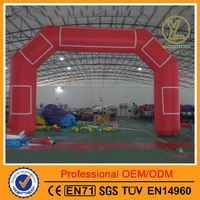 Hot-selling customized inflatable arch/Events inflatable entrance arch