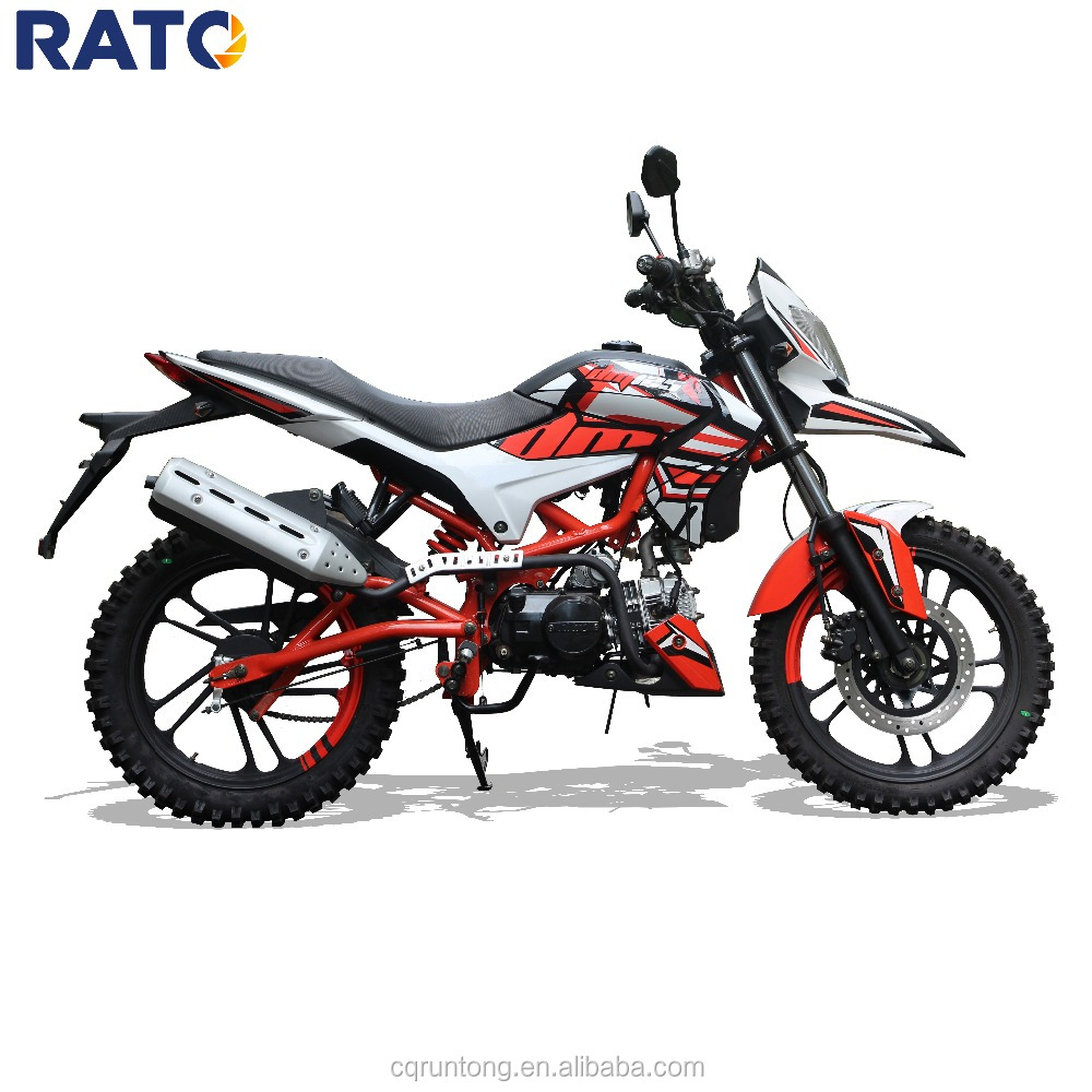 RATO horizontal engine 125cc enduro mini dirt bike for adult