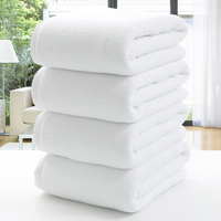 Hot-Selling White Hotel Disposable Hair Towel
