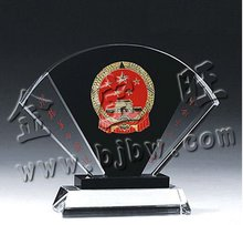 custom crystal trophy cup medal