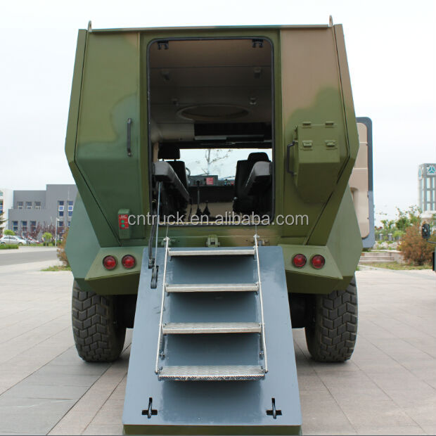 Sinotruk 4x4 Military Bulletproof Wheeled Armored Vehicle