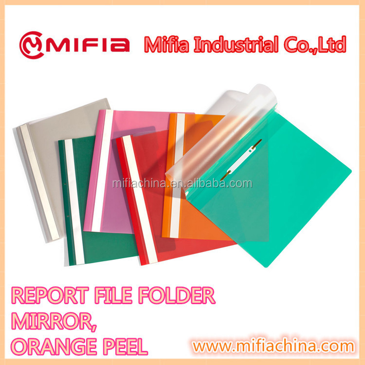 plastic PP Cover a4 /fc report file for office document Presentation