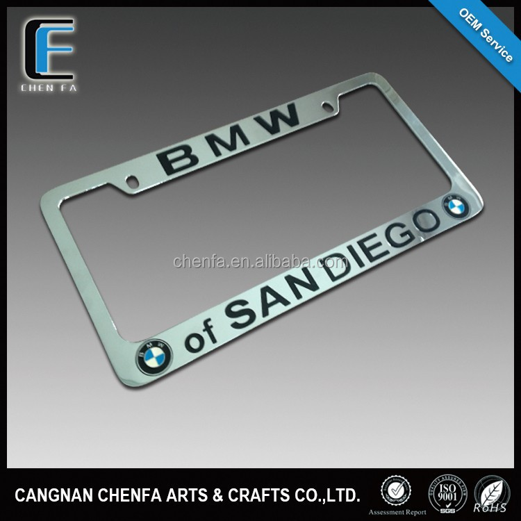 List manufacturers of zinc alloy license plate frame buy for American frame coupon