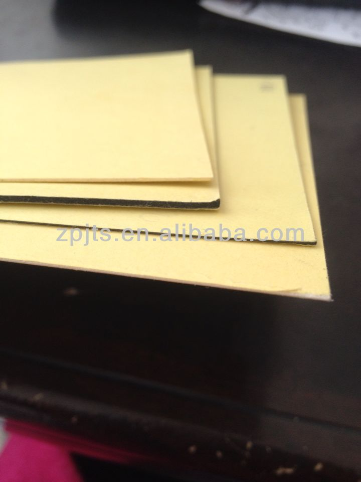 PVC album sheet,double-sided adhesive