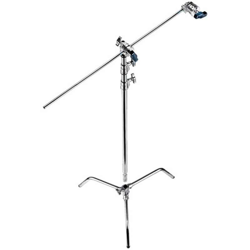 C type Impact Video Light Stand 3050mm 3M Light Stand Tripod For Studio With Boom Arm Stand