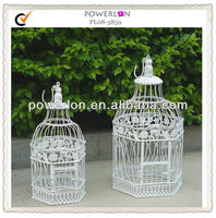 strong decorative iron metal cage for bird